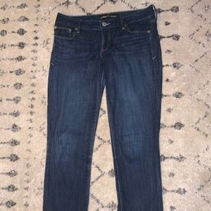 Express Skinny Jeans Dark Wash Size 6